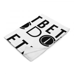 Bet DC throw blanket