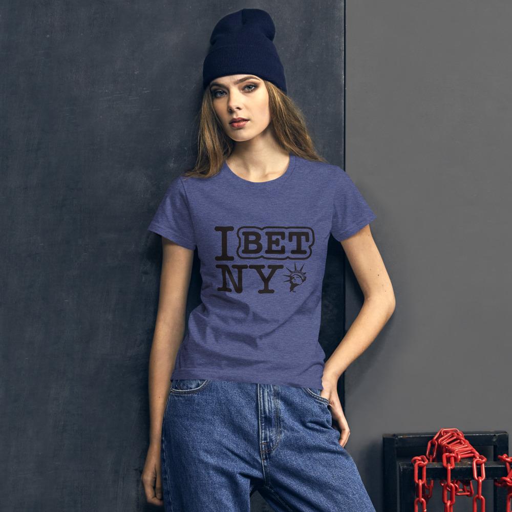 I Bet NY Liberty Women's Short Sleeve T